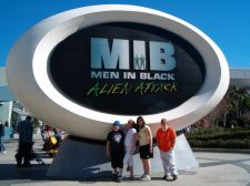 Men In Black at Universal Studios Orlando
