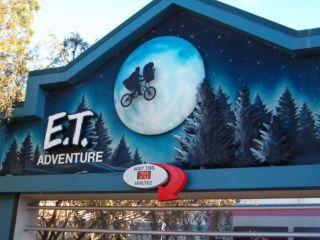 Ride E.T. at Universal Studios Orlando