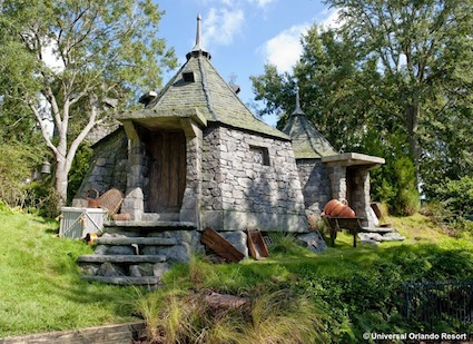 Hagrid's Hut at The Wizarding World of Harry Potter
