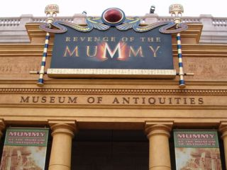The Mummy Ride at Universal Orlando