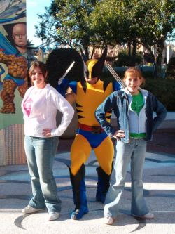 Wolverine and the Girls