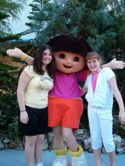 Dora the Explorer at Universal Studios Orlando