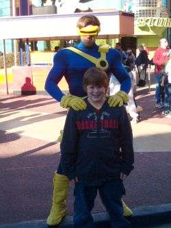Josh and Cyclops at Islands of Adventure